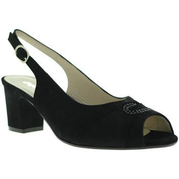 Παπούτσια Γυναίκα Σανδάλια / Πέδιλα Melluso S615 Μαύρος