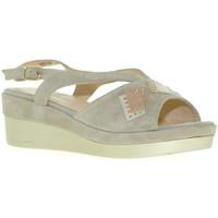 Παπούτσια Γυναίκα Σανδάλια / Πέδιλα Melluso R70715 Γκρί