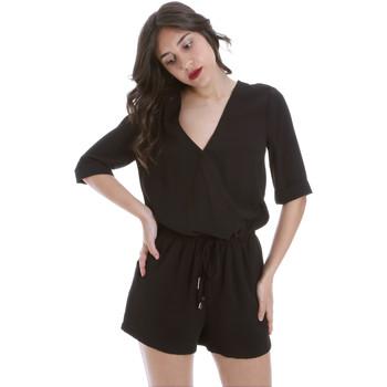 Υφασμάτινα Γυναίκα Ολόσωμες φόρμες / σαλοπέτες Gaudi 011BD25029 Μαύρος