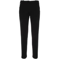 Υφασμάτινα Γυναίκα Παντελόνια Chino/Carrot NeroGiardini P860140D Μαύρος