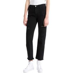 Υφασμάτινα Γυναίκα Boyfriend jeans Calvin Klein Jeans J20J207108 Μαύρος