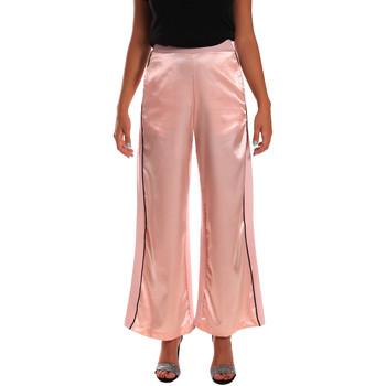 Υφασμάτινα Γυναίκα Παντελόνες / σαλβάρια Y Not? 18PEY001 Ροζ