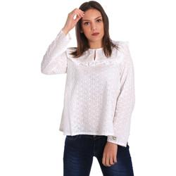 Υφασμάτινα Γυναίκα Μπλούζες Y Not? 18PEY018 λευκό