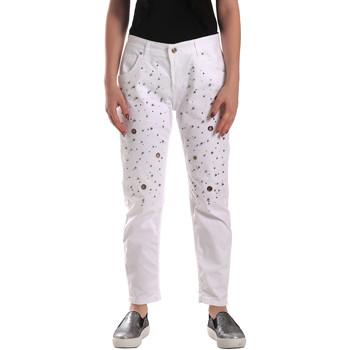 Υφασμάτινα Γυναίκα Jeans Y Not? 18PEY097 λευκό