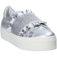 Παπούτσια Γυναίκα Slip on Mally 6174 Γκρί