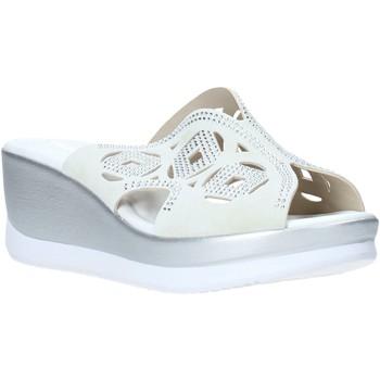 Παπούτσια Γυναίκα Τσόκαρα Valleverde 32150 λευκό