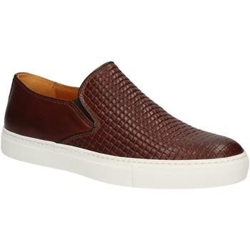 Παπούτσια Άνδρας Slip on Rogers 2236B καφέ