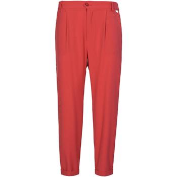 Υφασμάτινα Γυναίκα Παντελόνια Chino/Carrot Café Noir JP228 το κόκκινο