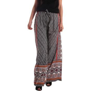 Υφασμάτινα Γυναίκα Παντελόνες / σαλβάρια Gaudi 73FD25200 Μαύρος