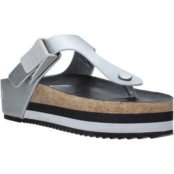 Παπούτσια Γυναίκα Σαγιονάρες Napapijri NA4EUU Γκρί