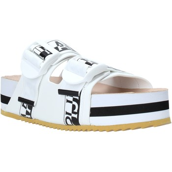 Παπούτσια Γυναίκα Τσόκαρα Napapijri NA4ESE λευκό