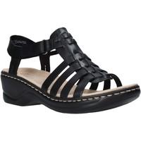 Παπούτσια Γυναίκα Σανδάλια / Πέδιλα Clarks 26139748 Μαύρος