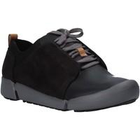 Παπούτσια Γυναίκα Χαμηλά Sneakers Clarks 26128213 Μαύρος