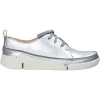 Παπούτσια Γυναίκα Χαμηλά Sneakers Clarks 26138898 Ασήμι