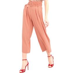 Υφασμάτινα Γυναίκα Παντελόνες / σαλβάρια Fracomina FR20SM644 Ροζ