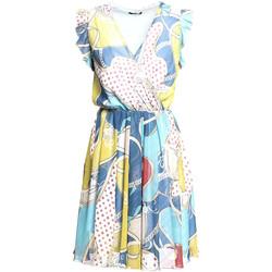 Υφασμάτινα Γυναίκα Κοντά Φορέματα Fracomina FR20SM562 Μπλε