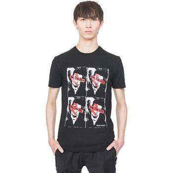 Υφασμάτινα Άνδρας T-shirt με κοντά μανίκια Antony Morato MMKS01743 FA120001 Μαύρος