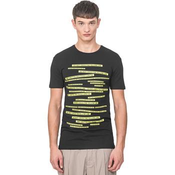 Υφασμάτινα Άνδρας T-shirt με κοντά μανίκια Antony Morato MMKS01749 FA120001 Μαύρος