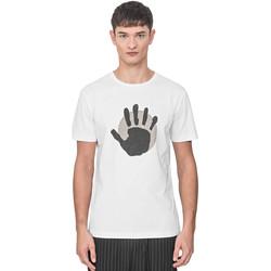 Υφασμάτινα Άνδρας T-shirt με κοντά μανίκια Antony Morato MMKS01765 FA100144 λευκό