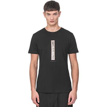 Υφασμάτινα Άνδρας T-shirt με κοντά μανίκια Antony Morato MMKS01766 FA100144 Μαύρος