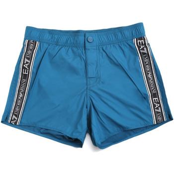 Υφασμάτινα Άνδρας Μαγιώ / shorts για την παραλία Ea7 Emporio Armani 902039 0P734 Μπλε
