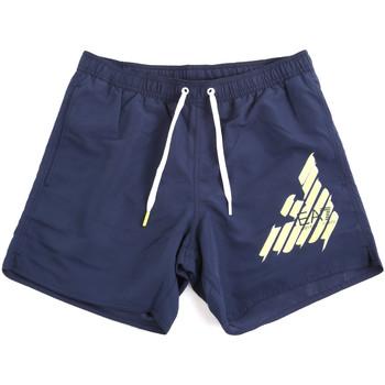 Υφασμάτινα Άνδρας Μαγιώ / shorts για την παραλία Ea7 Emporio Armani 902000 0P724 Μπλε