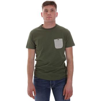 Υφασμάτινα Άνδρας T-shirt με κοντά μανίκια Sseinse ME1588SS Πράσινος