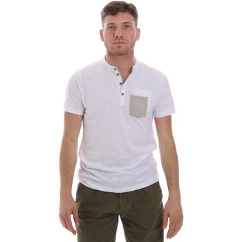 Υφασμάτινα Άνδρας T-shirt με κοντά μανίκια Sseinse ME1600SS λευκό