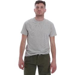 Υφασμάτινα Άνδρας T-shirt με κοντά μανίκια Sseinse ME1603SS λευκό