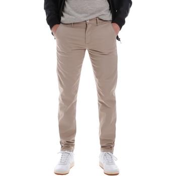 Υφασμάτινα Άνδρας Παντελόνια Chino/Carrot Sseinse PSE555SS Μπεζ