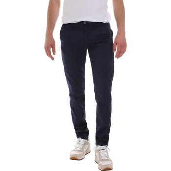 Υφασμάτινα Άνδρας Παντελόνια Chino/Carrot Sseinse PSE555SS Μπλε