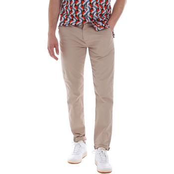 Υφασμάτινα Άνδρας Παντελόνια Chino/Carrot Sseinse PSE558SS Μπεζ