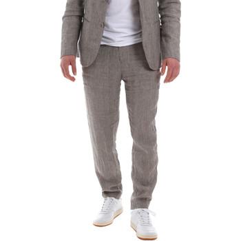 Υφασμάτινα Άνδρας Παντελόνια κοστουμιού Sseinse PSE585SS καφέ