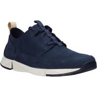 Παπούτσια Άνδρας Χαμηλά Sneakers Clarks 26145025 Μπλε