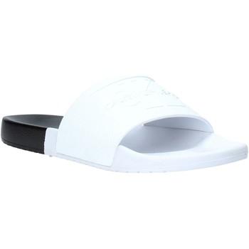 Παπούτσια Άνδρας σαγιονάρες Calvin Klein Jeans B4S0674 λευκό