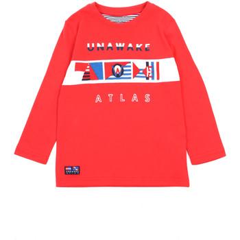 Υφασμάτινα Κορίτσι Μπλουζάκια με μακριά μανίκια Losan 015-1002AL το κόκκινο