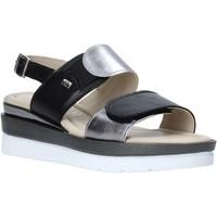 Παπούτσια Γυναίκα Σανδάλια / Πέδιλα Valleverde 32141 Μαύρος