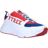Παπούτσια Άνδρας Χαμηλά Sneakers Pyrex PY020206 λευκό