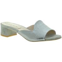 Παπούτσια Γυναίκα Τσόκαρα Mally 6195 Ασήμι