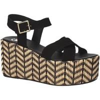 Παπούτσια Γυναίκα Σανδάλια / Πέδιλα Exé Shoes G41007047004 Μαύρος