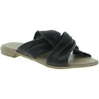 Παπούτσια Γυναίκα Τσόκαρα 18+ 6113 Μαύρος
