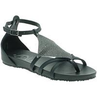 Παπούτσια Γυναίκα Σανδάλια / Πέδιλα 18+ 6108 Μαύρος