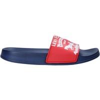 Παπούτσια Παιδί σαγιονάρες Levi's VPOL0037S το κόκκινο