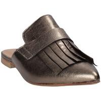 Παπούτσια Γυναίκα Σαμπό Mally 6173 Γκρί