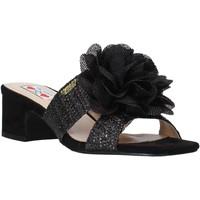 Παπούτσια Γυναίκα Τσόκαρα Love To Love EVA583C1 Μαύρος