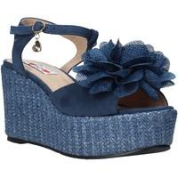 Παπούτσια Γυναίκα Σανδάλια / Πέδιλα Love To Love GIN579 Μπλε