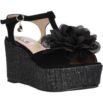 Παπούτσια Γυναίκα Σανδάλια / Πέδιλα Love To Love GIN583 Μαύρος