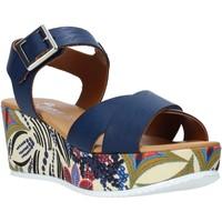 Παπούτσια Γυναίκα Σανδάλια / Πέδιλα Grace Shoes 12 Μπλε