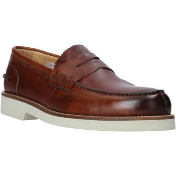 Παπούτσια Άνδρας Μοκασσίνια Exton 2102 καφέ