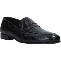 Παπούτσια Άνδρας Μοκασσίνια Exton 1021 Μαύρος
